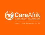CareAfrik Logo - Orange Background